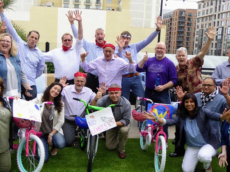 CHARITY BIKE BUILD community service team-building group challenge | Out of the Ordinary Group Adventures