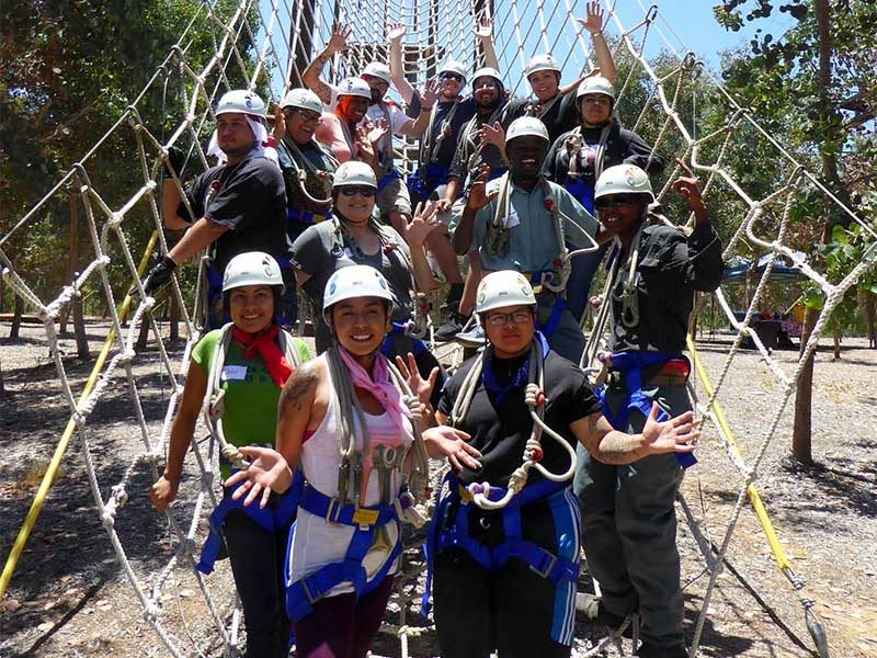 Ropes Course Team Challenge | Out of the Ordinary Group Adventures