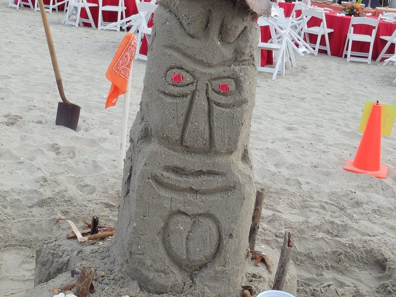Sand Sculpture Competition - Out of the Ordinary Group Adventures