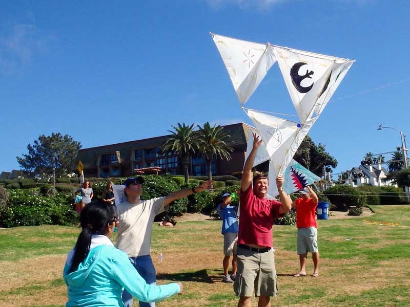 Out of the Ordinary Group Adventures - Kite Building