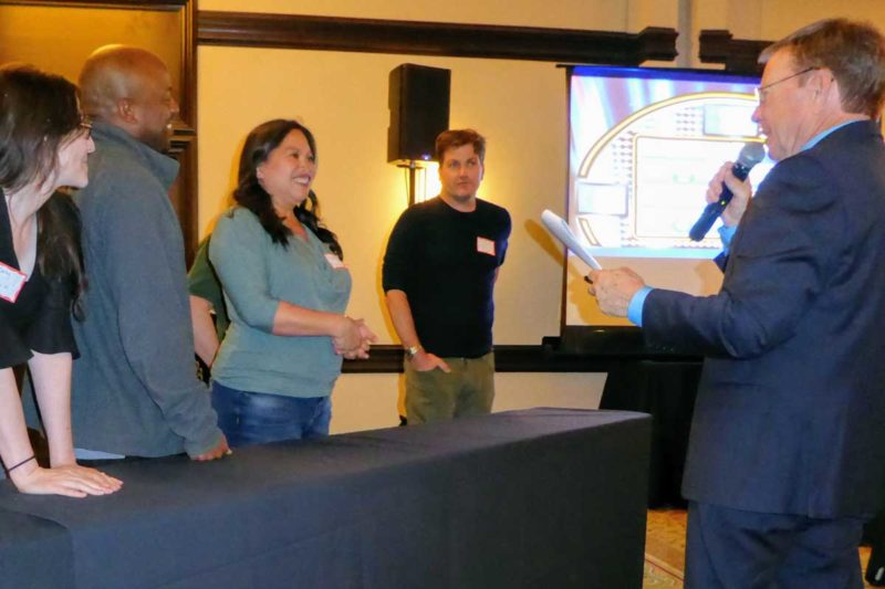 Have fun Answering questions Family Feud Team Building Program - Out of the Ordinary Group Adventures