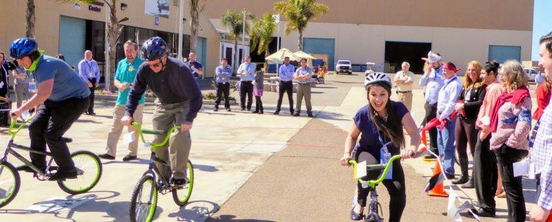 CSR bike build turtle race